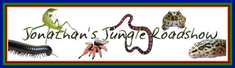 Jonathan's Jungle Roadshow Header Image